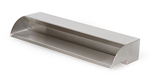 "24"" Stainless Steel 316 Spillway"