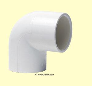 1-1/2 inch PVC Elbow