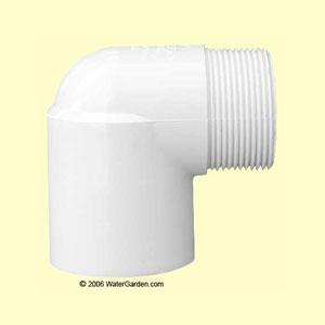 1-1/2 inch MPT x Slip Elbow