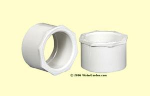 2 inch Slip x 1-1/2 inch Slip Bushing