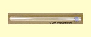 8/15 Watt Replacement Aqua UV Quartz Sleeve