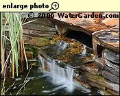Waterfall using waterfall tank.