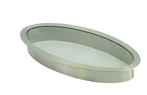 """Stainless Steel Splash Ring for 12"""" Spillways"""