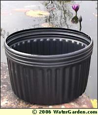 No Hole Plastic Aquatic Pot