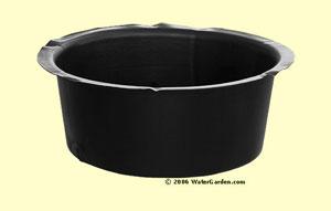 12 x 5 inch Plastic Pot
