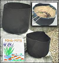Fabric Pots for Aquatic Plants Photo